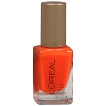 orange nailpolish