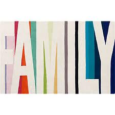 fabulous fun Family rug !
