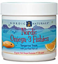 tangerine flavored omega-3 supplements