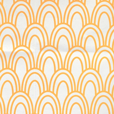 scallop print fabric