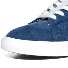 blue sued nikes